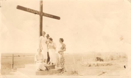 Cruz lado Este Cementerio-1933