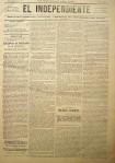 """El 6 de mayo de 1900, """"El Independiente"""" publica un completo parte de guerra firmado por Crespo."""